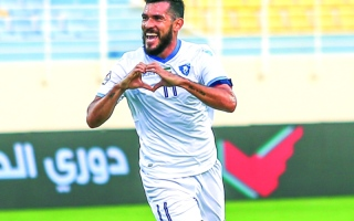 الصورة: غابرييل: باقٍ في الدوري الإماراتي  إلى «أجل غير مسمى»