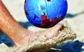 الصورة: «الكرة الشاطئية» تبحث عن طوق النجاة