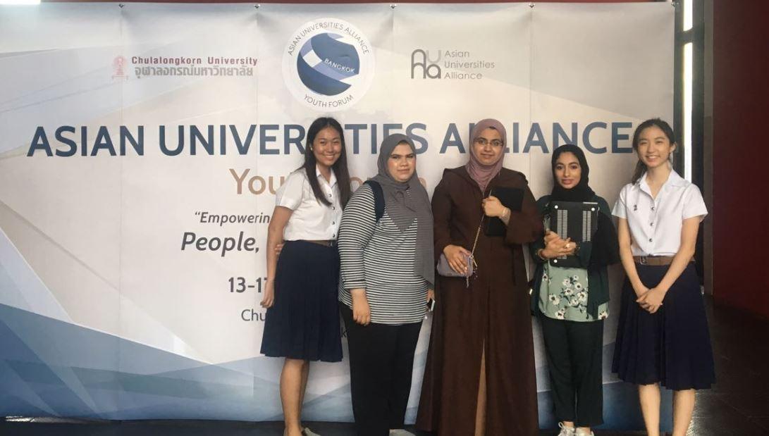 طالبات من جامعة الإمارات يحصدن المراكز الأولى في منتدى الشباب لتحالف الجامعات الآسيوية