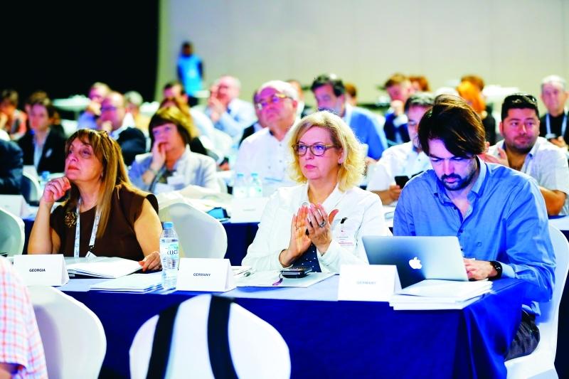 الصورة : ■  جانب من المشاركين في المؤتمر     تصوير: مجدي اسكندر
