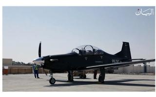 الصورة: «الطائرة B250» أول مقاتلة عسكرية بأياد إماراتية