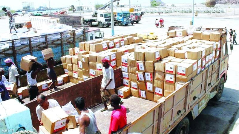 الصورة : Ⅶ مساعدات إنسانية متواصلة تخطّت حاجز 7 مليارات لليمن