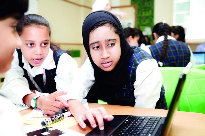 الصورة : ■ طلبة دبي يحققون تقدماً ملحوظاً في مهارات القراءة  |  من المصدر