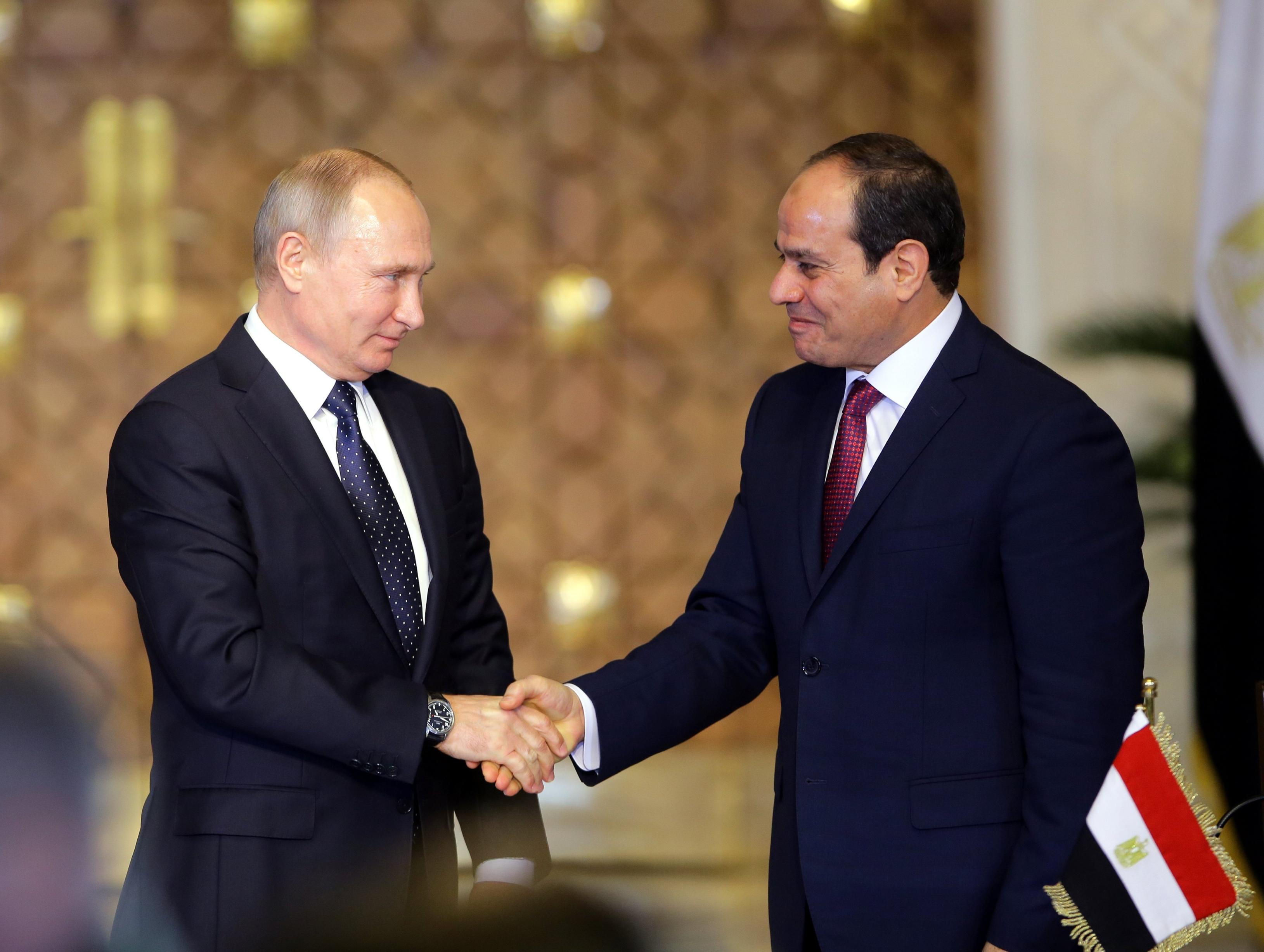 مصر وروسيا توقعان اتفاقا لبدء العمل بمحطة الضبعة النووية