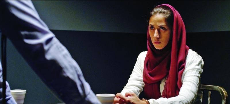 الصورة : ■ مشهد من فيلم «احتجاز» للمخرجة السعودية هاجر النعيم     من المصدر