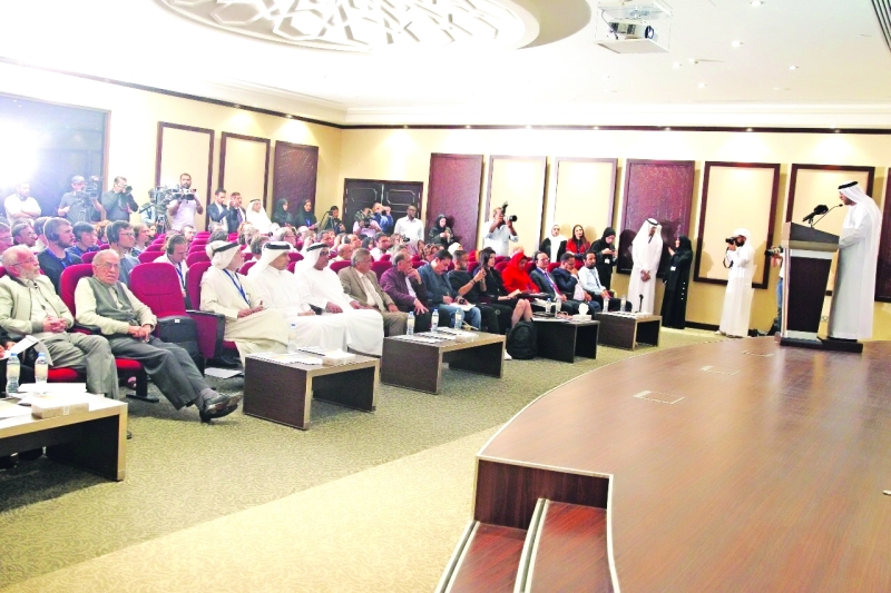 الصورة : خلال المؤتمر الصحفي | من المصدر