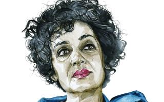 الصورة: الصورة: الروائية الهندية أرونداتي روي:  الأدباء مطالبون أن يكونوا أكثر  تأثيراً لا انتشاراً