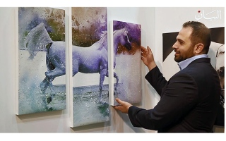 الصورة: الخيول.. خيال جامح في لوحات الفنانين