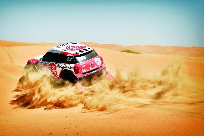 الصورة : من إحدى بطولات نادي الإمارات لرياضة السيارات  |  البيان