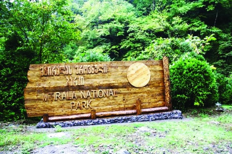 الصورة : حديقة متيرالا الوطنية
