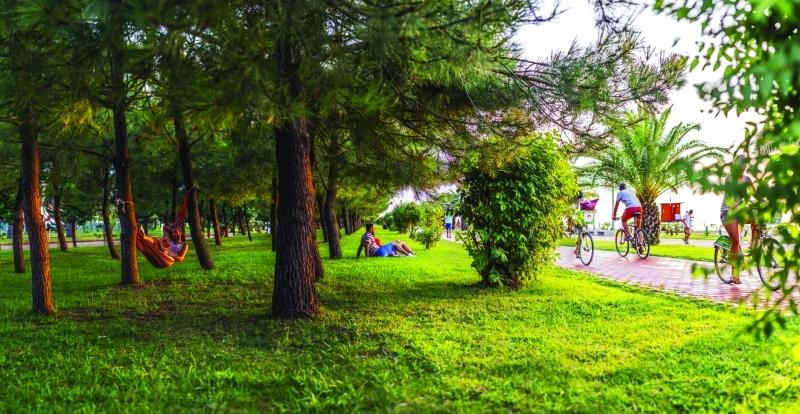 الصورة : حديقة السادس من يونيو
