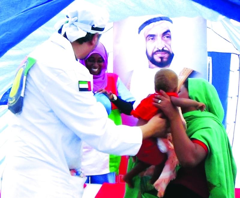 الصورة : ■  مبادرة زايد العطاء أسهمت في مساعدة الملايين من المرضى حول العالم   |   من المصدر