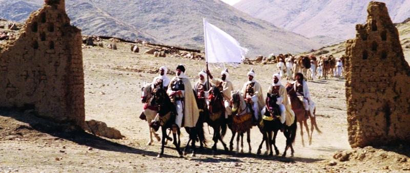 Ⅶ مشهد من فيلم الرسالة  |  من المصدر