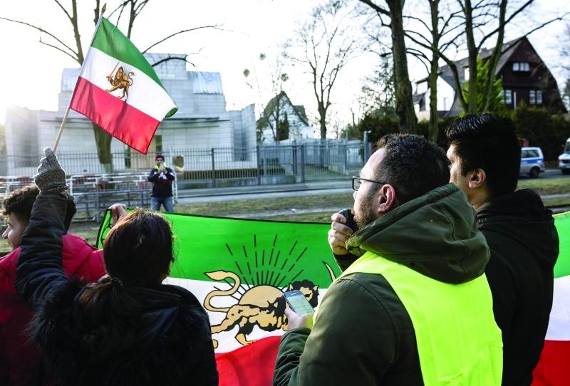 ■  لقطة مأخوذة من فيديو لتظاهرات في إحدى مناطق إيران