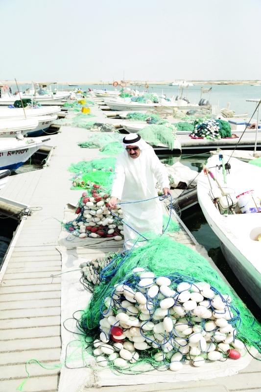 الصورة : ■ دعم متواصل للصيادين المواطنين بتسهيلات متعددة  |  أرشيفية
