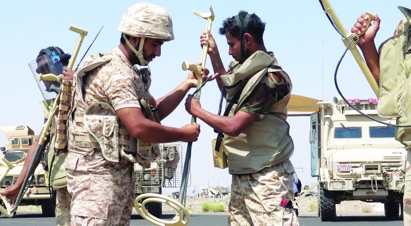 الصورة : قوات الشرعية في اليمن تواصل انتصاراتها في تحرير المناطق من قبضة الحوثيين   أرشيفية