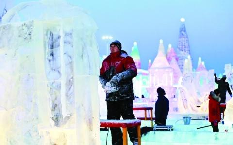 الصورة: مهرجان الثلوج