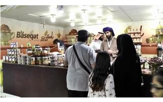الصورة: الجناح السعودي في القرية العالمية.. مملكة تراثية بروح شبابية