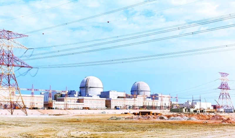 الصورة : جهود متواصلة لمؤسسة الإمارات للطاقة النووية في إنتاج الكهرباء النظيفة  |  من المصدر