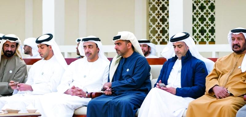 الصورة : Ⅶ سيف وحامد وعبدالله وخالد بن زايد وسعيد بن محمد