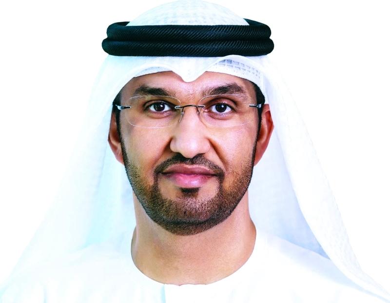الصورة : سلطان الجابر:  جهود حثيثة لتلبية  الطلب المتنامي  على الطاقة في الدولة