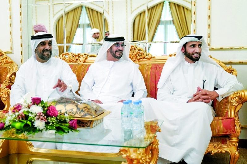 الصورة : محمد الشيباني خلال الزيارة