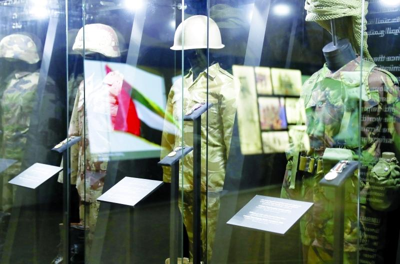 مراحل زمنية حاسمة بلورت مسيرة القوات المسلحة لدولة الإمارات  |   تصوير: دينيس مالاري