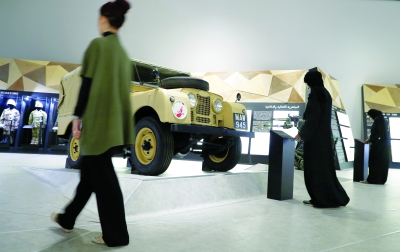 المعدات العسكرية تؤرخ لمدى جاهزية القوات المسلحة الإماراتية