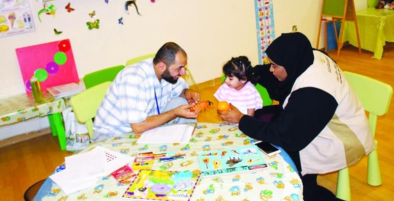 الصورة : الهيئة تسعى عبر سلسلة من البرامج والمبادرات النوعية إلى دعم أسر وأفراد المنطقة | من المصدر