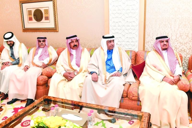 ■ أعضاء الوفد المرافق للوزير السعودي
