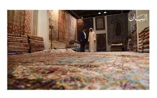 """الصورة: """"واحة السجاد"""" حكايات نادرة تتوارثها الأجيال"""