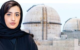 الصورة: سارة الشوملي..  مثال إبداع لابنة الإمارات تحت قبة «براكة»