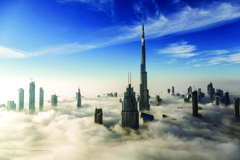 الصورة : Ⅶ  أبراج دبي تسبح في عالم من الأحلام
