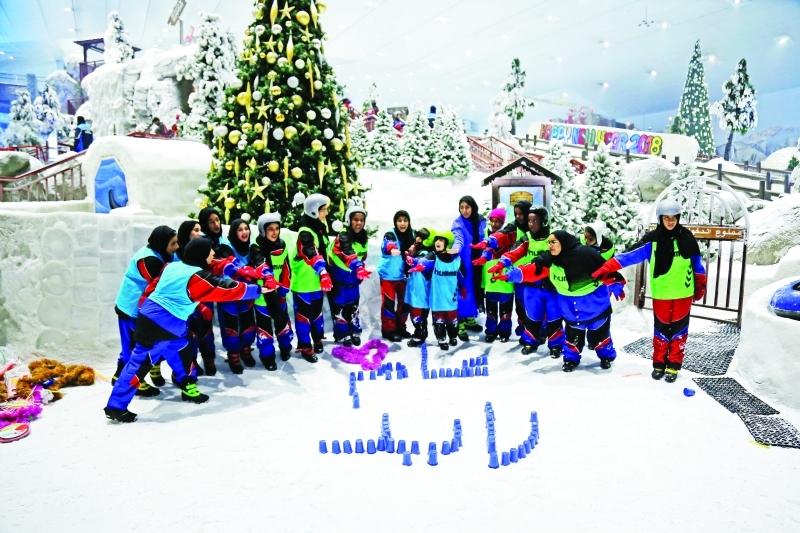 وزارة التربية كسرت النمط التقليدي عبر تجربة كشفية للطلاب في «سكي دبي»  |  من المصدر