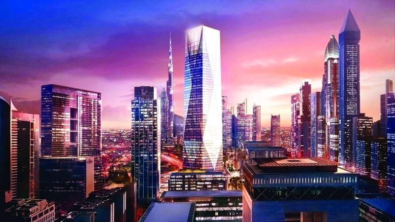 ■  برج «بروكفيلد أي سي دي بلاس» معمار لافت