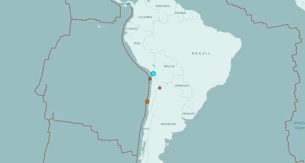 زلزال بقوة 6.3 درجة يهز تشيلي