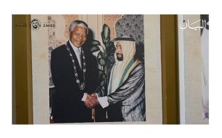 الصورة: «ذاكرة الوطن» يوثق إنجازات زايد بأفلام وصور نادرة