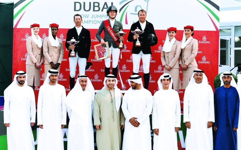 شنايدر تتألق بـ 5 نجوم في «دولية دبي لقفز الحواجز» - البيان