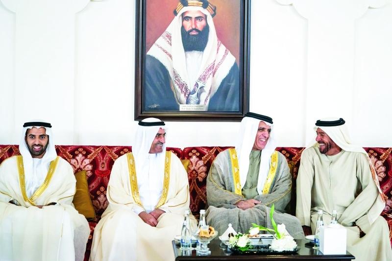حمد الشرقي وسعود بن صقر ومحمد بن سعود وسرور بن محمد