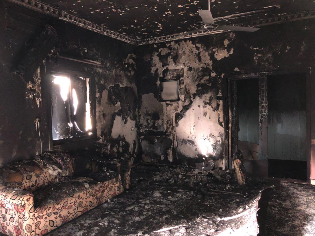 وفاة 7 أفراد من عائلة مواطنة بحريق منزلهم في الفجيرة