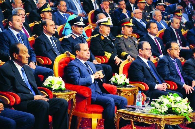 السيسي: مصر لن تكون يوماً قاعدة للإرهاب
