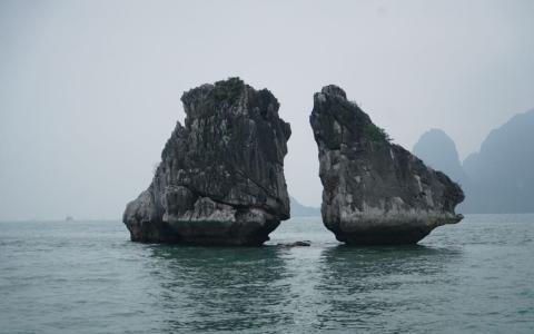 الصورة: «خليج ها لونج» تحفة طبيعية تشكلت خلال 500 مليون عام