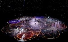 الصورة: أجمل مشاهد حفل افتتاح أولمبياد 2018