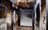 الصورة: وفاة 5 أشخاص اختناقاً إثر حريق بالبطينة في الشارقة