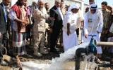 الصورة: تدشين مشروع مياه في لحج يخدم 10 آلاف أسرة