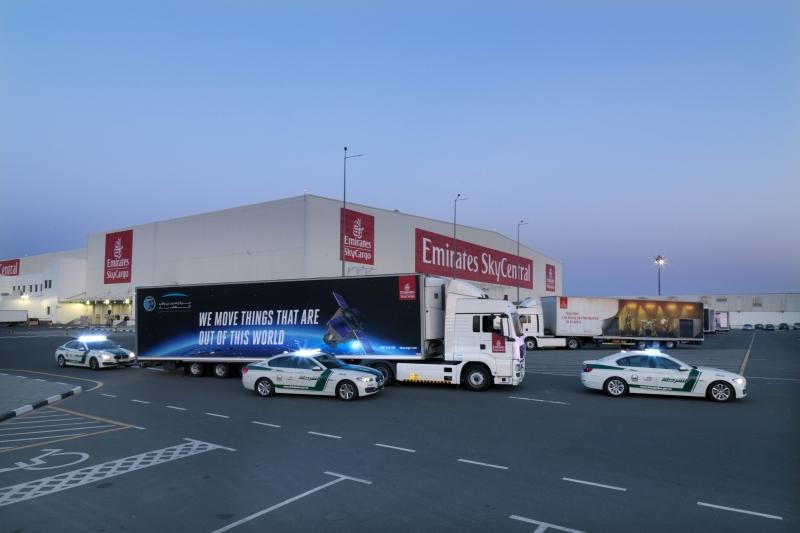الإمارات للشحن تنقل «خليفة سات» إلى إنتشون الكورية - البيان