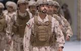 الصورة: محمد بن زايد: زايد بن حمدان أحد أبطال الإمارات البواسل