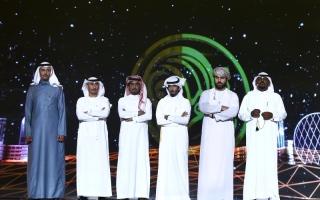 الصورة: إماراتي وسعودي وعُماني إلى المرحلة الثانية من «شاعر المليون»