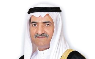 حاكم الفجيرة يهنئ أمير الكويت بالعيد الوطني وذكرى التحرير لبلاده