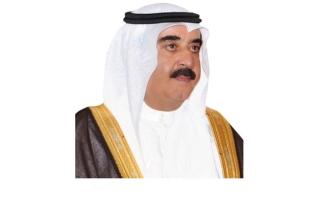 حاكم أم القيوين يهنئ أمير الكويت بالعيد الوطني وذكرى التحرير لبلاده